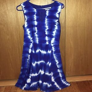 Blue and white  dress barn dress